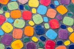 Piso colorido Fotos de archivo libres de regalías