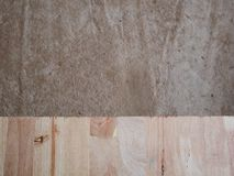 Piso de entarimado laminado del roble material que suela de madera, tablero de madera fotos de archivo libres de regalías