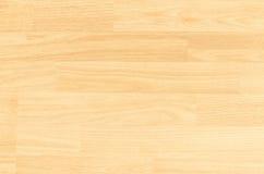 Piso de la cancha de básquet del arce de la madera dura visto desde arriba Imagen de archivo libre de regalías