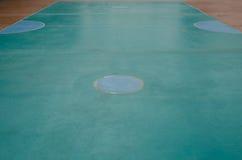 Piso de la corte del takraw de Sepak Fotos de archivo