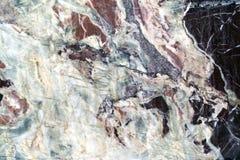 Piso de mármol blanco y negro de la textura imagen de archivo