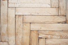 Piso de madera apenado rústico Imágenes de archivo libres de regalías