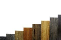 Piso de madera de la textura: teja del roble, teja del arce, teja de la castaña, nuez Imagen de archivo libre de regalías