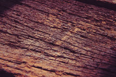Piso de madera del viejo decaimiento, fondo Macro Imagen de archivo libre de regalías