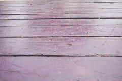 Piso de madera de la textura vacante, tono púrpura oscuro, fondo foto de archivo