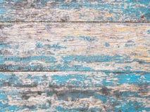 Piso de madera modelado, azul brillante, raya de la raya fotos de archivo libres de regalías