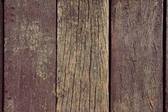 Piso de madera viejo, textura del fondo Imágenes de archivo libres de regalías