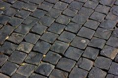 Piso de piedra del bloque Imagen de archivo libre de regalías