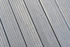 Piso de tableros grises en reykjavik, Islandia Textura de madera del piso al aire libre Superficie de la madera en fondo de mader Foto de archivo