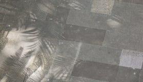 Piso del granito para el suelo exterior del pavimento Foto de archivo libre de regalías