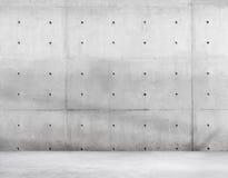 Piso del muro de cemento y del cemento para el espacio de la copia imagen de archivo libre de regalías