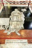Piso en el duomo de Siena Fotografía de archivo