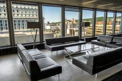 Piso moderno del edificio Foto de archivo libre de regalías