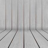 Piso y pared de madera brillantes de la textura Imágenes de archivo libres de regalías