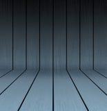 Piso y pared de madera oscuros de la textura Imagen de archivo