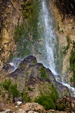 Pisoaia waterfall Royalty Free Stock Photo