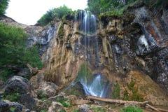 Pisoaia waterfall. Stock Photo