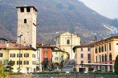 Pisogne - Iseo Lake - Brescia Stock Images