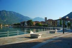 Pisogne, lago Iseo, Italia Imágenes de archivo libres de regalías