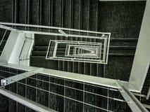 25 pisos abajo Imagen de archivo libre de regalías