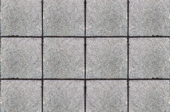 Pisos de los bloques de cemento Foto de archivo