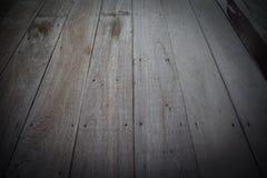 Pisos de madera viejos, para la textura y el fondo Fotografía de archivo