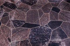 Pisos superficiales de las losas pulidas del granito de diversas formas fotos de archivo