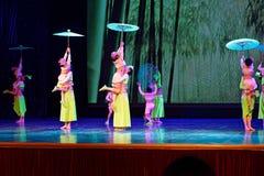 Pisotee en la exposición de enseñanza de clasificación Jiangxi del logro de los niños de la prueba de la academia de la danza de  fotos de archivo