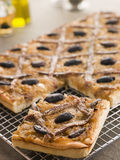 Pissaladiere royalty free stock image