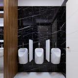 Pissoar i en offentlig toalett på en marmorvägg vektor illustrationer