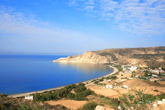 Pissouri Bay Royalty Free Stock Photos