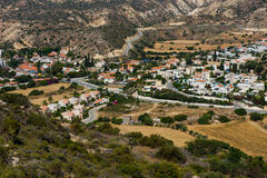 Pissouri bay village. Cyprus Royalty Free Stock Photography