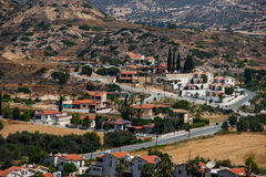 Pissouri bay village. Cyprus Stock Images