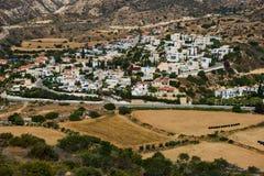Pissouri village. Cyprus. Pissouri village resort in Pissouri bay.  Mediterranean sea coast, Cyprus Stock Photos
