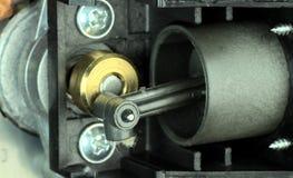 Pistão de bomba imagem de stock