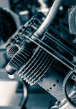 Pistões Aero do motor Fotografia de Stock