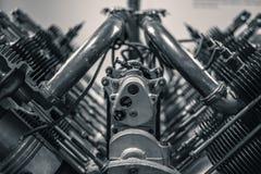Pistões Aero do motor Fotos de Stock