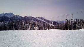 pist de ski Photo stock