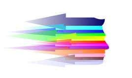 Pista abstracta stock de ilustración