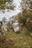 Pista al lago Eishort en la isla de Skye Foto de archivo libre de regalías