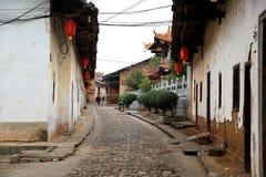 Pista antiga de Zhuji em China Imagens de Stock