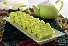 Pista Barfi. Delicious, fresh, unique and healthy pistachio halwa, famous in Pakistan & India royalty free stock photography