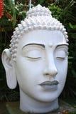Pista blanca de Buddha Imagen de archivo libre de regalías