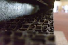 Pista-capa del ` s del tanque Oruga acorazada monstruosa foto de archivo