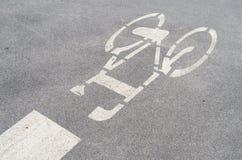Pista ciclabile Fotografia Stock