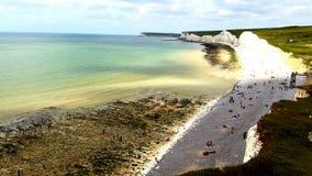 Pista con playas Imagen de archivo