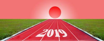 Pista corrente per gli atleti fondo, atleta Track fotografie stock libere da diritti
