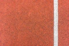 Pista corriente para el atletismo fotografía de archivo libre de regalías