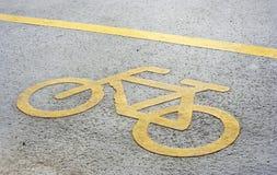 Pista da bicicleta Imagem de Stock
