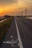 Pista da bicicleta Foto de Stock